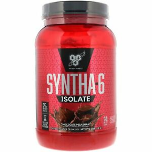 BSN Syntha-6 Isolate Protein Powder 2LB 24 Servings Whey & Casein Blend Ex.10/21