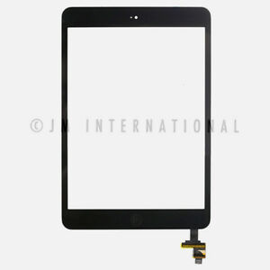 iPad mini 1 2 Touch Screen Digitizer with IC Connector Home Button Module Black