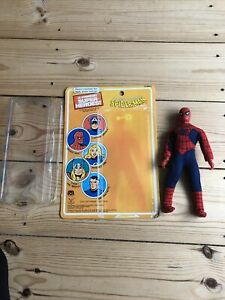 MEGO Spiderman With Card And Bubble