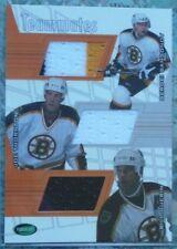 Boston Bruins 2001-02 Parkhurst Update Teammates Jersey Guerin/Thornton/Samsonov
