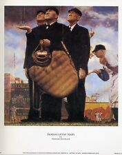 Norman Rockwell Saturday Evening Post BOTTOM OF THE 6TH