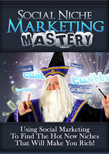 How To Use Social Marketing To Find The Hot Niche Markets- 81 Page eBook on CD