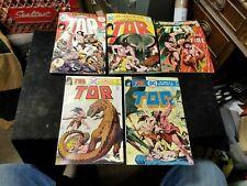 1975 Bronze Age DC Comics TOR Comic Books 1 - 5 Complete