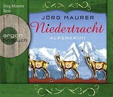 Niedertracht: Alpenkrimi [Audio CD] [2011] Maurer, Jörg - SEHR GUT