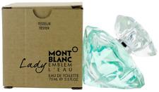 Lady Emblem L'eau by Mont Blanc For Women EDT Perfume Spray 2.5oz Tester