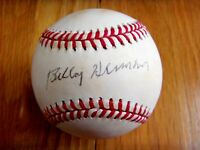 BILLY HERMAN 1980's Show Signed NL Baseball -Lifetime Guaranteed Authentic