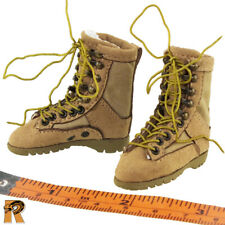 Villa Female Soldier - Boots (for Feet) - 1/6 Scale - Very Cool Action Figures