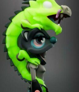 Coarsetoys Coarse Aura Dragon Ignited GID Glow in Dark Vinyl Art Toy 2019 New
