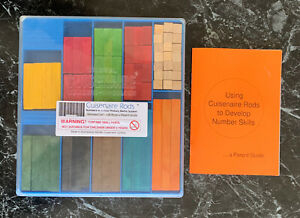 Original Cuisenaire Rods Numbers-in-colour Primary Maths System