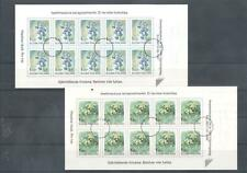 (859330) Flowers, Booklet, Finland - SPECIMEN -