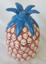 Three Dots And A Dash Pineapple Pink Tiki Mug Tiki Farm Chicago New 2016 Org Box