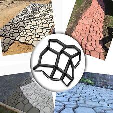 Pathmate Random Stone Concrete Molds Garden Walk Maker Stepping Stone Paver