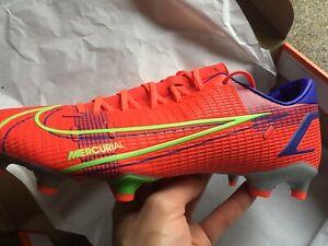 New Nike Vapor 14 Academy FG/MG Football Boots Size 8