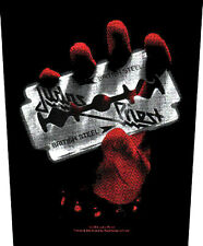 JUDAS PRIEST - British steel Rückenaufnäher Backpatch