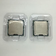 2pcs Intel Xeon X5460 Quad-Core 3.16 GHz 12M 1333MHz SLANP Socket 771 CPU 5.0 av