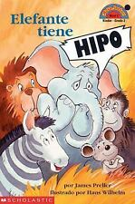 Hiccups For Elephant (elefante Tien E Hipo) Level 2 (Hello Reader) (Spanish