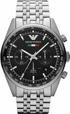 Emporio Armani Men's Watch Black Dial/StainAR5983