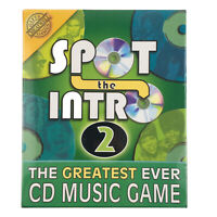 Spot The Intro 2 Music Game Tune Knowledge Family Party CD Friends Song Evening