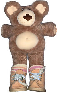 Vintage Furskins Teddy Bear Xavier Roberts Large Stuffed Animal