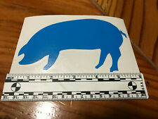 SIX INCH Thin Blue Line BLUE PIG identifier- a fun way to show your colors!