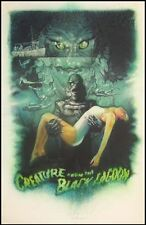 CREATURE FROM THE BLACK LAGOON by Drew Struzan Gicle'e limited edition of 235