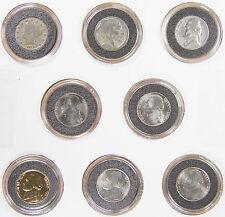 Set of 8: Varied Nickel Type Set