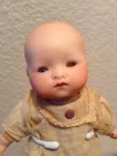 """Vintage Armand Marseille 341/5 Germany Dream Baby 7.5"""" Factory Gown"""