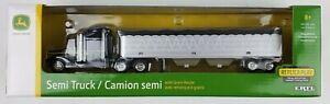 ERTL 1/64th John Deere Semi Truck with Grain Trailer