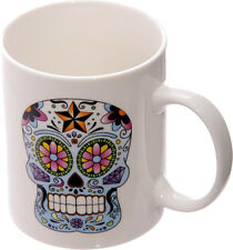 DAY OF THE DEAD Sugar Skull GOTHIC Totenkopf TASSE / Mug