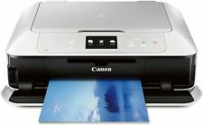 CANON Pixma MG7520 Wireless Color Cloud Printer with Scanner and Copier, White