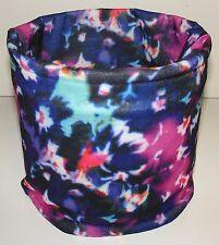 Tye Dye Floral Tubular Multi Function Headwear Balaclava Beanie Cap Scarf Mask