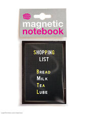 Brainbox Candy Shopping List magnetic notebook/pad funny cheap present gift
