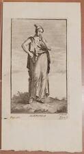 XILOGRAFIA AGERONIA MITOLOGIA DECLAUSTRE 1700 ORIGINALE MYTHOLOGY ZABALLI 1780