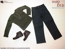 OneSixthKit 1/6 Scale Hard To Die Casual Wear For Hot Toys Body Shirt Jeans