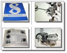 Sachs 50 CC 3-gang MOTORE 1965 istruzioni di riparazione Officina Manuale Manuale