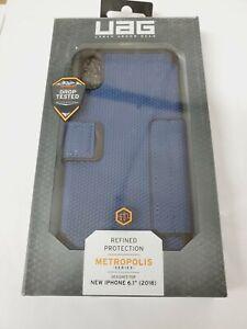 "Urban Armor Gear UAG Metropolis Feather-Light Case For iPhone XR (6.1"") - Blue"