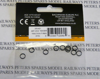 Graham Farish 379-421 4MT Tender Traction Tyres Pk10  N Gauge