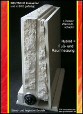 Infrarotheizung B-Ware, Elektro- und Marmorheizung, HYBRID = Raum- + Fußheizung