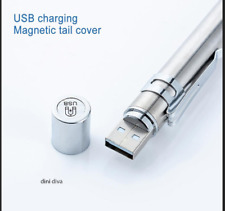 USB Rechargeable Medical Handy Pen Light Mini Nursing Flashlight LED Torch Lamp