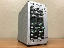 Mynx Solid State Logic, 2 Slot Chassis  + 2 X-Rack E Series Dynamics Module XR41