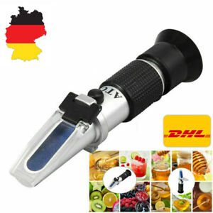 DHL Refraktometer Honig Imker Wasser Zucker Gehalt, Brix: 58-90% Wasser: 10-33%