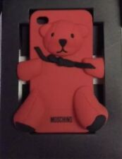 Cover Originale MOSCHINO IPhone 4-4s Orsacchiotto Rosso In Rilievo