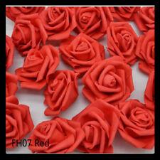 10pcs 6cm Pe Rose Flowers Artificial Flowers Home Wedding Deco Bride Bouquet