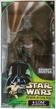 "Star Wars Power of the Jedi 12"" 4-LOM (Hasbro, 2000) New in Box"