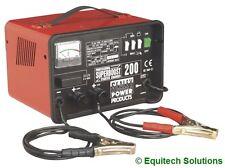 Sealey Tools Superboost200 Battery Starter Charger Booster 12V 24V 230V New