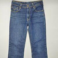 Levi's 627 Straight Fit W29 L25 blau Damen Designer Denim Jeans Hose Retro USA