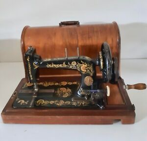 Rare 1903 model Singer 48k Ottoman Hand Crank sewing machine R1354117