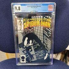 Spectacular Spiderman 101 CGC 9.8! Marvel Comics 1985! Amazing cover!