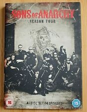 SONS OF ANARCHY COMPLETE FOURTH SEASON 4 DVD 4 DISC SET PAL REG 2 CHARLIE HUNNAN