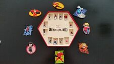 HTF The incredibles Miniature Figures French Porcelain FEVES with case + magnets